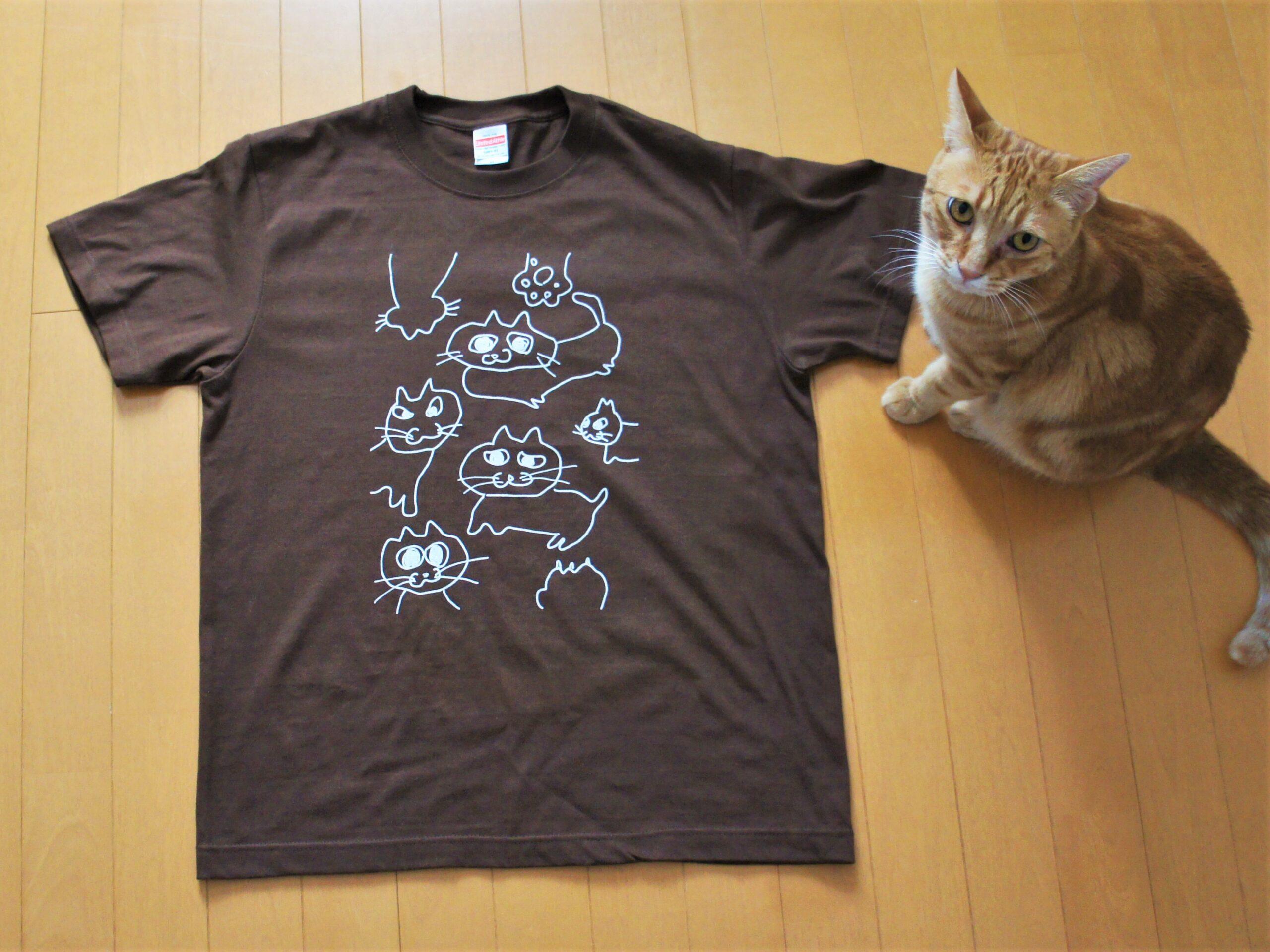 Tシャツ届きました【着画あり】